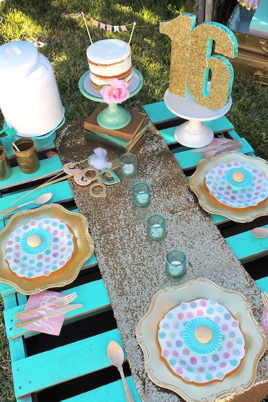 Boho Chic Birthday Party Ideas | Photo 1 of 17 | Catch My Party