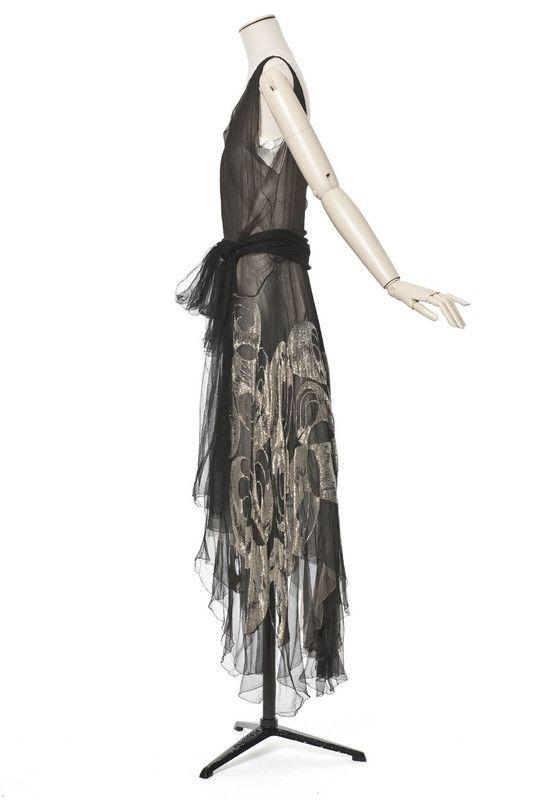 Madeleine Vionnet, robe du soir | Les Arts décoratifs