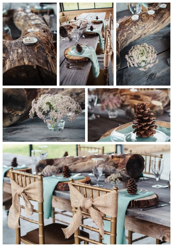 Rustic Wedding Centerpieces | Budget Centerpiece Ideas, 5 under $15 | Apple Brides
