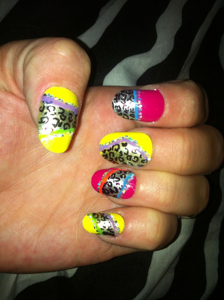 Robin Moses inspired :) party nails