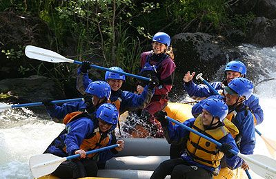 White Salmon River White Water Rafting | WetPlanet Whitewater-Columbia River Gorge- Class III-IV, half-day trip