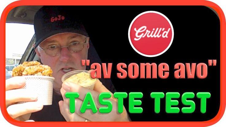 Grill'd Avocado Chips | Taste Test #chips