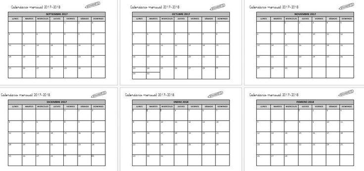 Os dejamos este sencillo planificador mensual totalmente editable para empezar a organizar nuestro próximo curso académico. CALENDARIO EDITABLE MENSUAL CURSO 2017-2018 Calendario mensual 2017-2018 PLANIFICA TU CURSO  TE PUEDE …