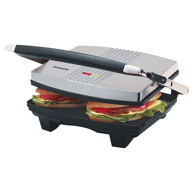 Ronson Sandwich Press Rsg400 Target Australia Target