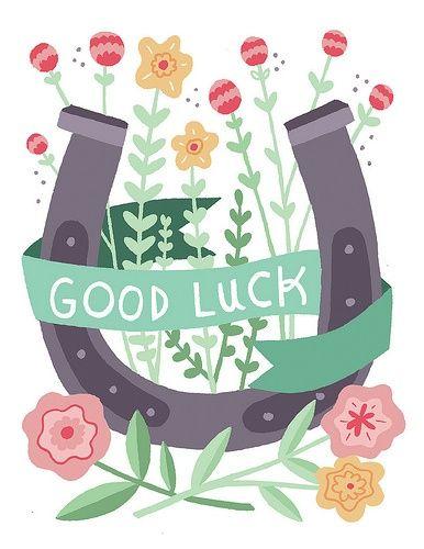 22 best Good luck images on Pinterest Good luck, Best of luck - good luck card template