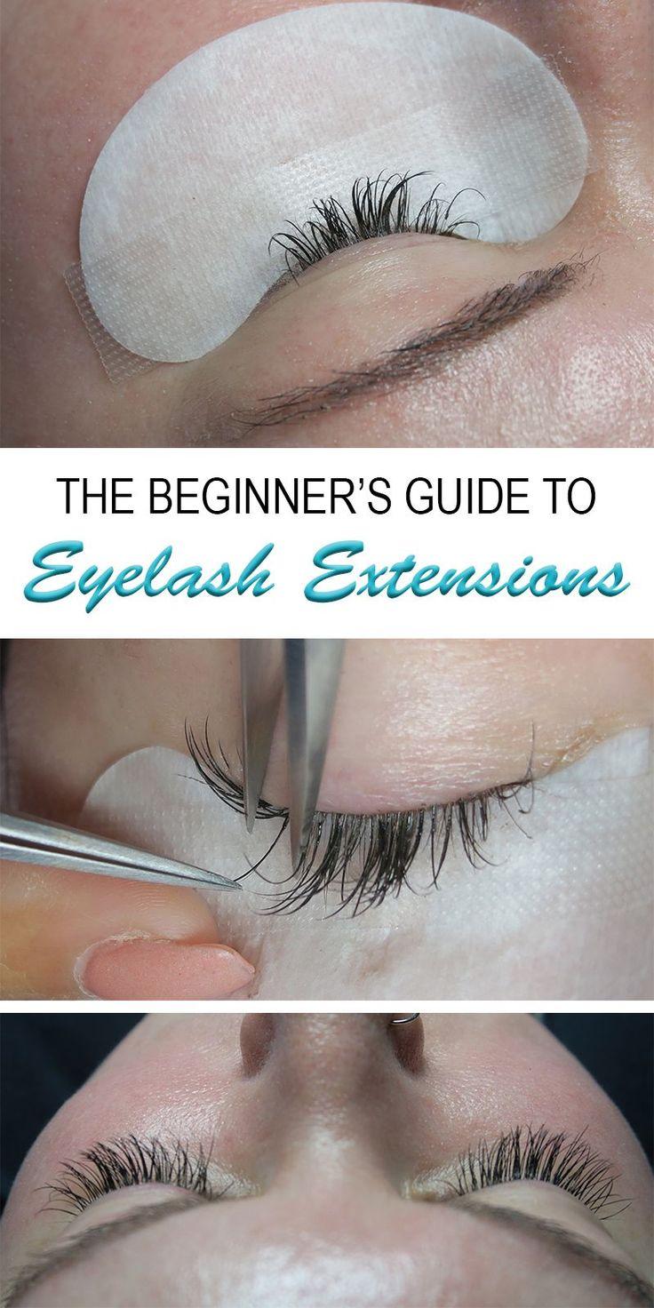 The beginners guide to eyelash extensions eyelash
