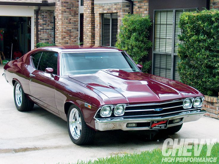 1969 Chevy Chevelle By Cermatreatment Com