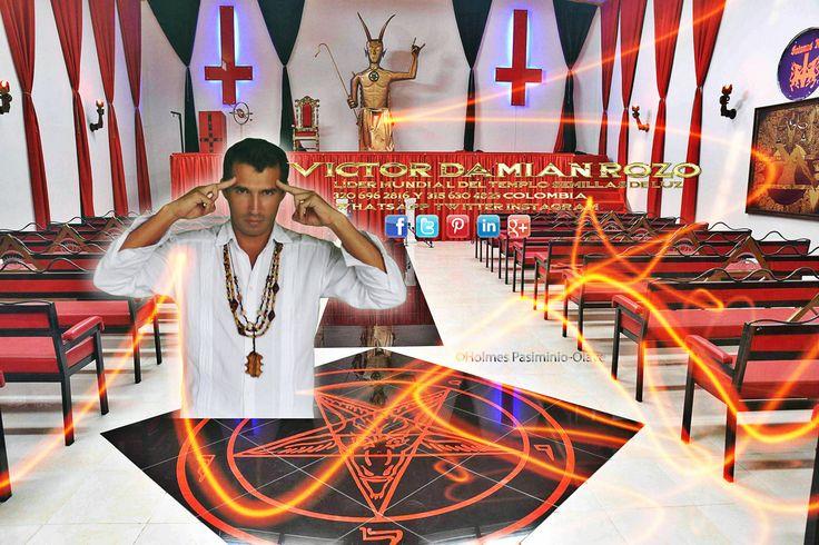 soy victor damian rozo lider de la iglesia luciferina semillas de luz colombia
