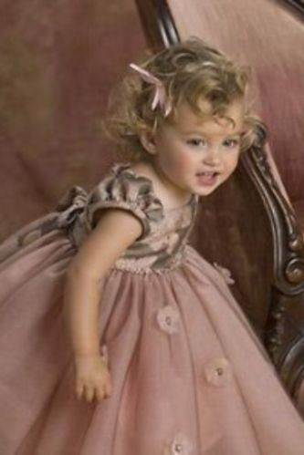 Biscotti Venetian Tapestry Gold Ballerina Tulle Dress 12 Months
