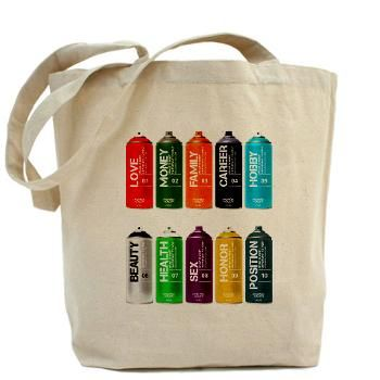 What is most important to you ?(Spray) Tote Bag
