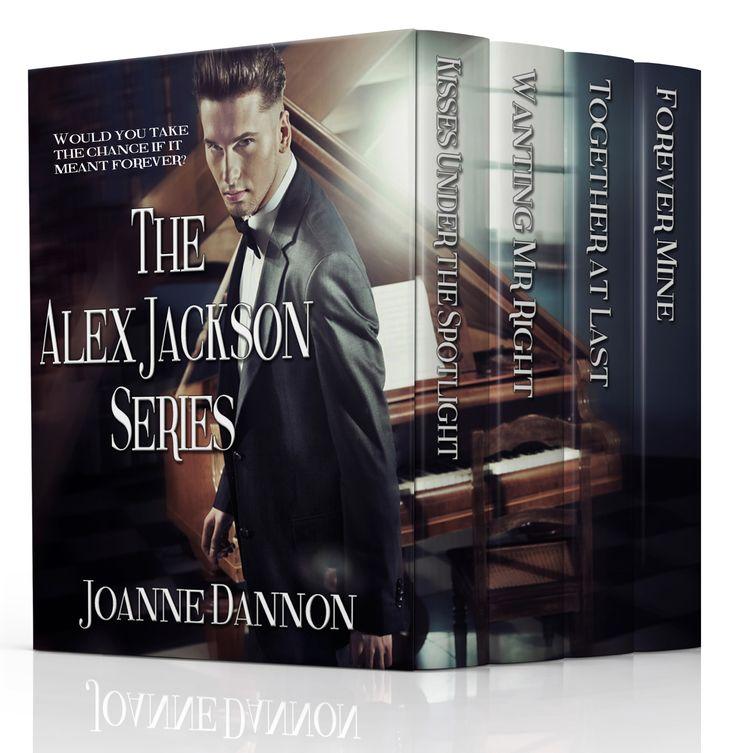 The Alex Jackson series, a bundle of four romances by romance writer, Joanne Dannon.