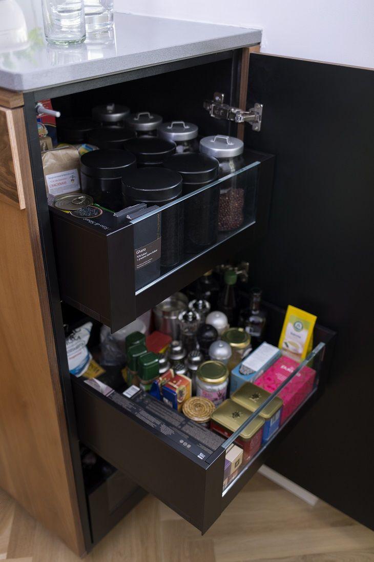 """Co skrywa kuchenna komoda? Nie jedną niespodziankę! New Mono Design - Kuchnia """"Gropius"""", połączenie stylu Art Deco z funkcjonalnością nowoczesnej zabudowy kuchennej"""