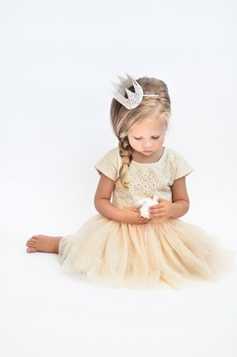 Ivory Lace Tutu Dress | Taylor Joelle Designs Baby and Children's Clothing Boutique