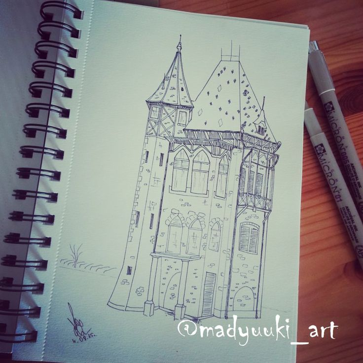 castle by @madyuuki_art  https://instagram.com/madyuuki_art/ http://yuki-chan-xdxd.deviantart.com/art/castle-551372137
