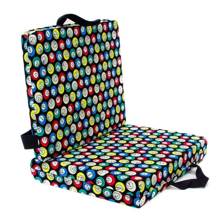 Bingo seat cushion Cushions, Patterned chair