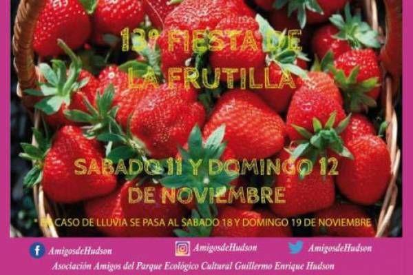 Florencio Varela: 13° Fiesta de la Frutilla
