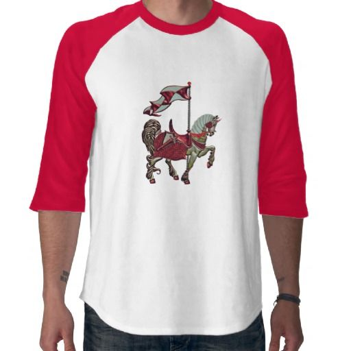 carousel horse_red_detail shirt #t-shirts #fashion #men