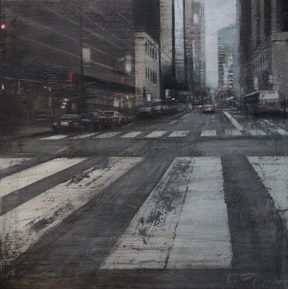 Pedro Rodriguez Garrido (oil on panel)