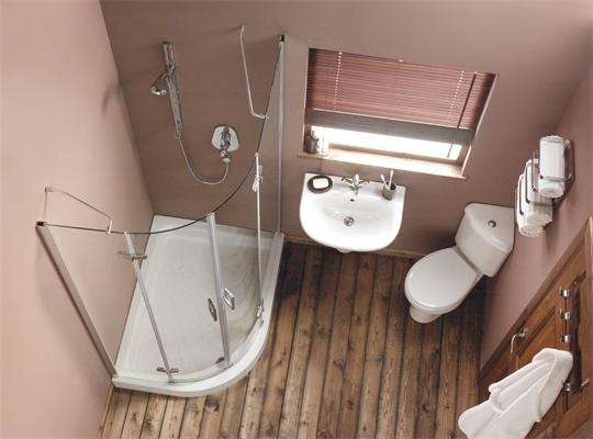 Like the corner toilet great for small space favorite for Great bathrooms in small spaces