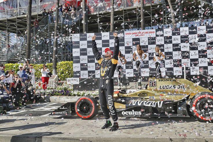 【インディカー】 ホンダ:第2戦 ロングビーチ 決勝レポート  [F1 / Formula 1]