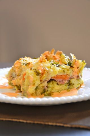 Award-winning casserole recipe: Panini Caprese Strata with Roasted Red Pepper Cream
