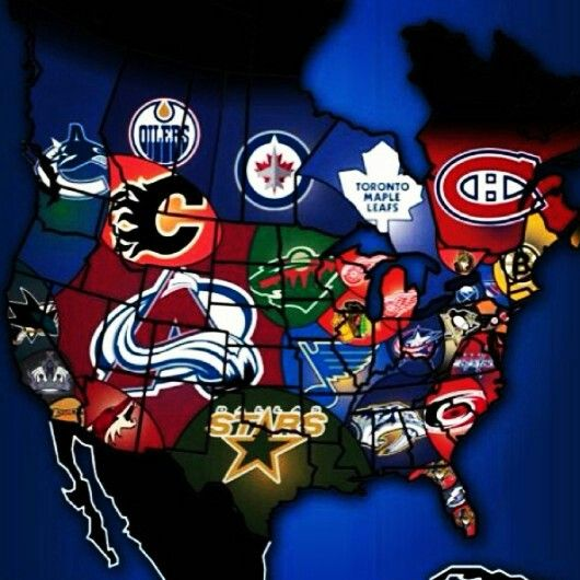 One big hockey nation! #NHL                                                                                                                                                                                 More