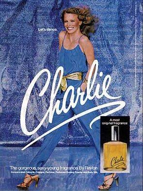 Revlon's Charlie perfume from the 70's - my favorite - and you couldn't get in Denmark at that time.