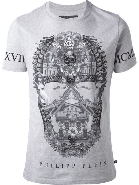 Shop Philipp Plein 'Horseback' T-shirt in Russo Capri from the world's best independent boutiques at farfetch.com. Over 1000 designers from 60 boutiques in one website.