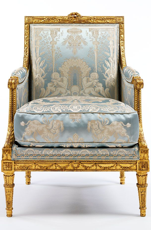 Armchair By Georges Jacob About 1785 France Paris Gilded Walnut French ChairsArm ChairsClub ChairsMuseumsLondonParisClassic FurnitureAntique
