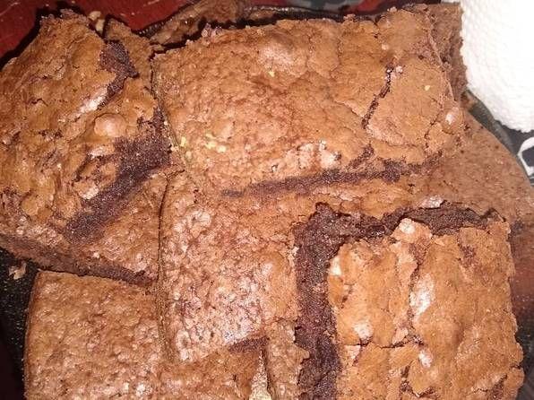 Brownies De Nesquik Receta De Delicias Caseras Receta Recetas De Comida Receta De Brownies Brownies