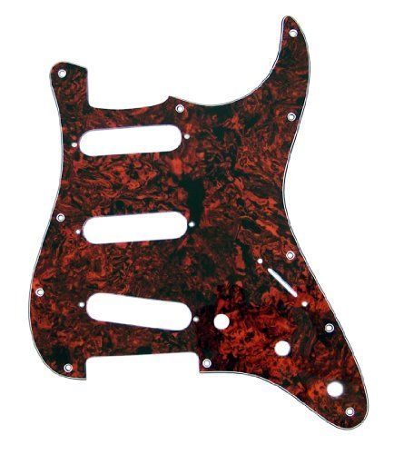 Mighty Mite MM5303US  Retrofit Strat SSS Tortoise Shell 3ply Pickguard by Mighty Mite. $13.97. Strat Style Replacement Pick guard for US & Mexican Made Fender Strat
