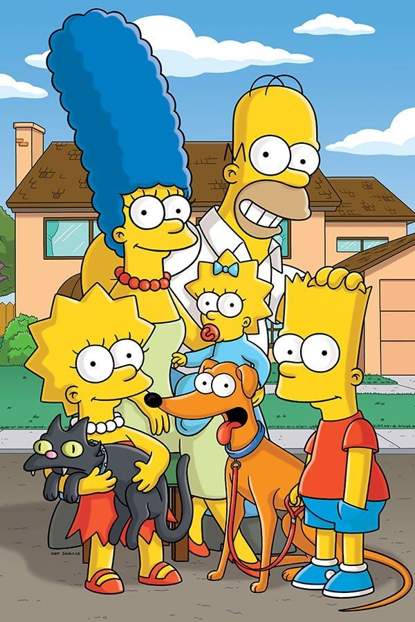 Poster Simpsons Desenho
