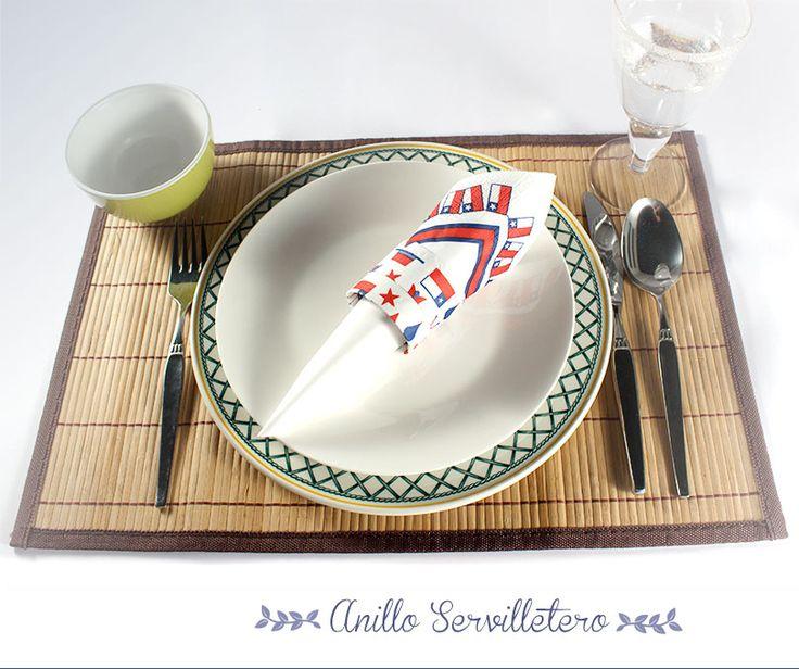 Tu toque en Fiestas Patrias con ELITE - Haz un Anillo Servilletero y descubre cómo decorar tu mesa este 18 de septiembre.