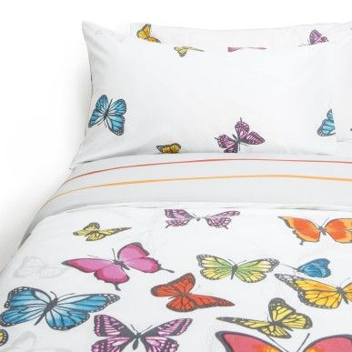Butterfly Print Duvet Set | Woolworths.co.za