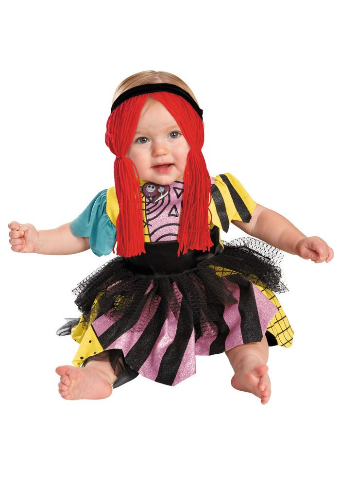 DISGUISE DISNEY SALLY INFANT GIRLS COSTUME 6-12 MONTH, 12-18 MONTH NWT #Disguise #CompleteCostume