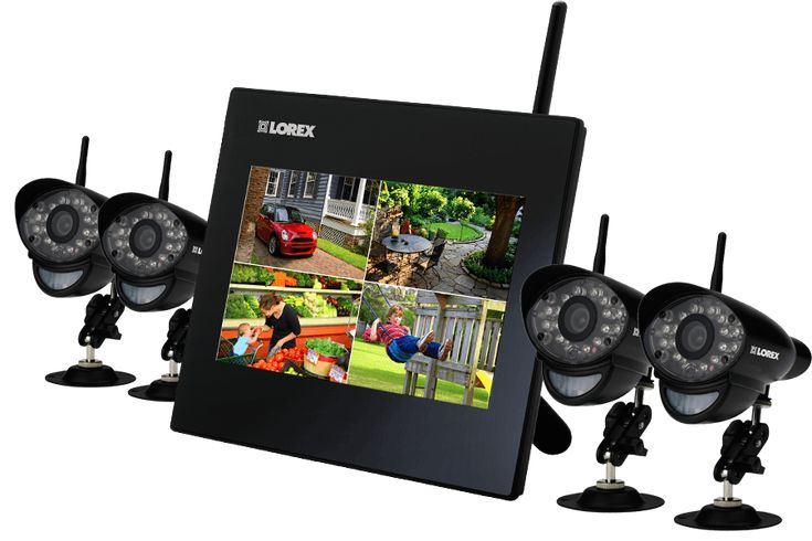 Intelligent Wireless Security Camera System