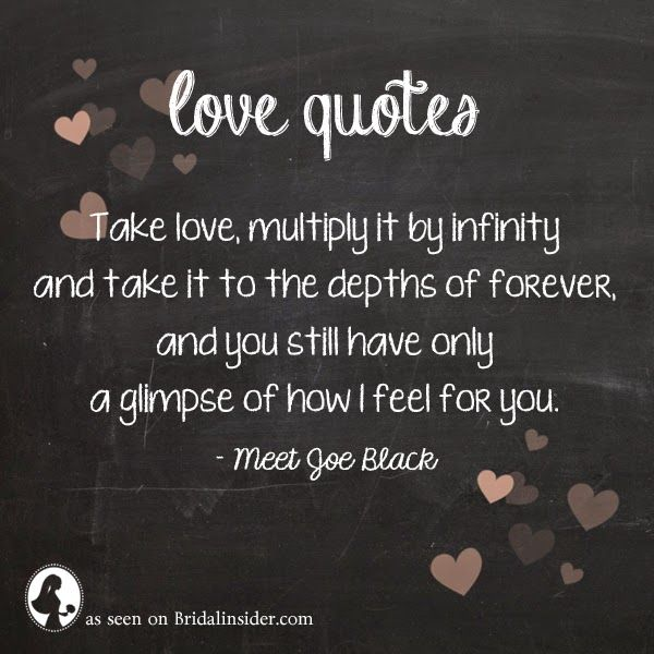meet joe black quotes multiply infinity by a number