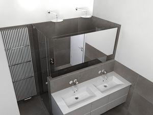 17 beste afbeeldingen over badkamer op pinterest toiletten handdoeken en douche wanden - Ligbad in het midden van de kamer ...