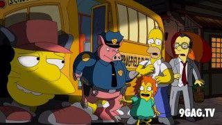 The Simpsons Pay Tribute To Hayao Miyazaki And Studio Ghibli - 9GAG.tv