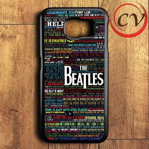 The Beatles Samsung Galaxy S6 Case