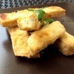 Bastoncini di tofu croccanti