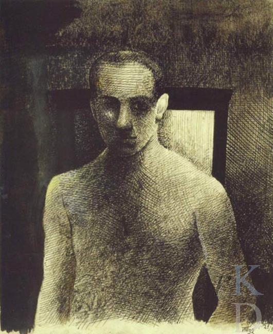 Paul Citroen Self portrait, 1930-1932Zwolle/Heino, De Fundatie
