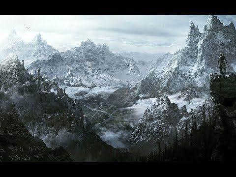 Soaking music Jeremy Soule - Skyrim Atmosphere - YouTube