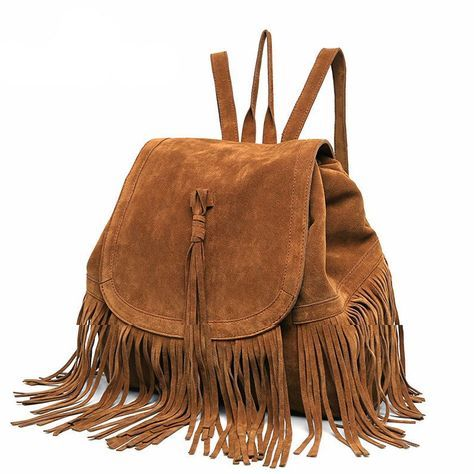 This beautiful fringe rucksack needs to be part of your collection! [LIMITED TIME OFFER - LOW STOCK] - NOT SOLD IN STORES Shipping: Please allow 2-3 weeks for US delivery due to high demand! This item
