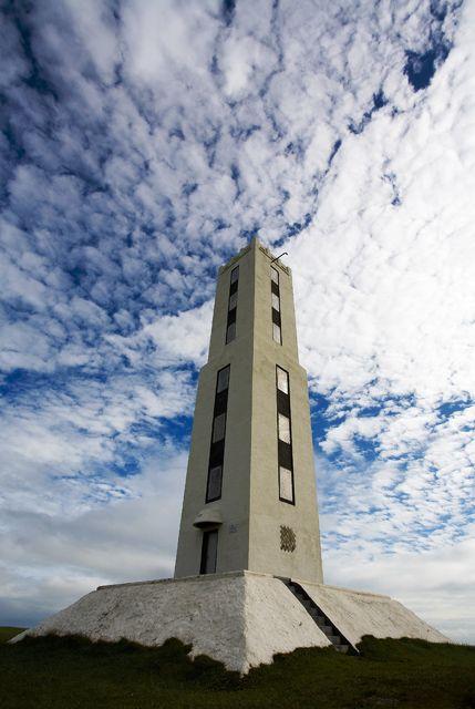 Up the lighthouse, Stokkseyri, Iceland