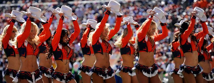 How the Denver Broncos Cheerleaders Get Super-Fit and Sexy For the Super Bowl