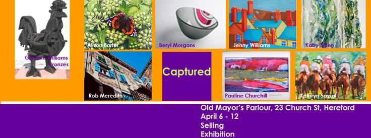 Captured an exhibition by 7 artists all living in Herefordshire in April 2015.  https://www.facebook.com/Old-Mayors-Parlour-787136191326032/events