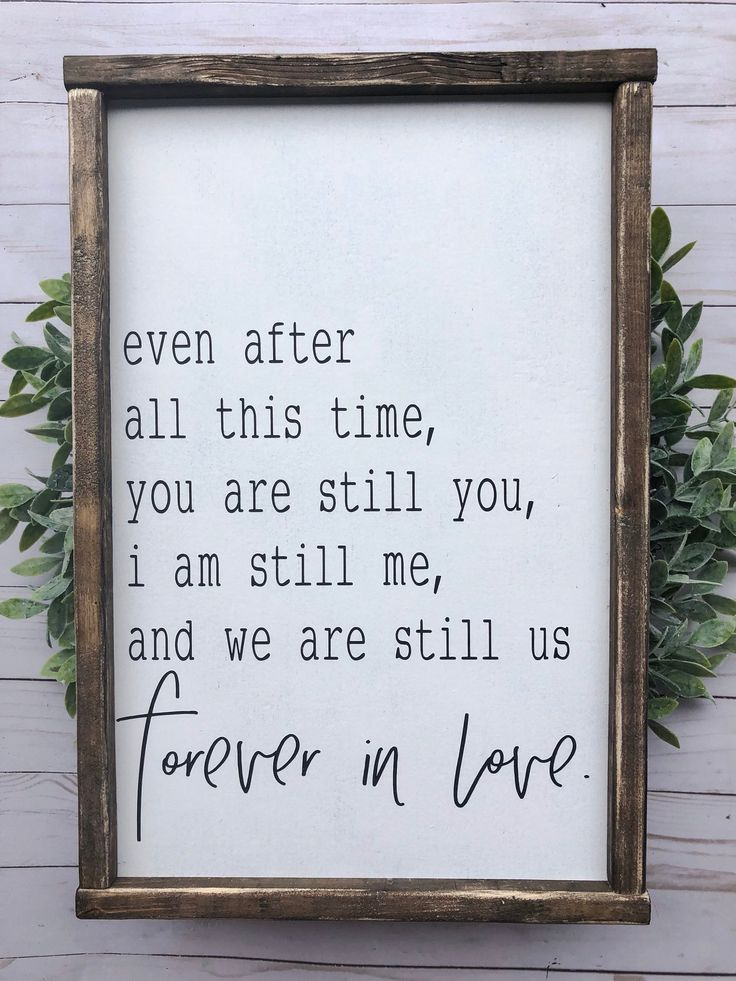 Signs with quotes | farmhouse decor | signs | wood sign | forever in love | farmhouse sign | wedding signs | wedding | signs for home