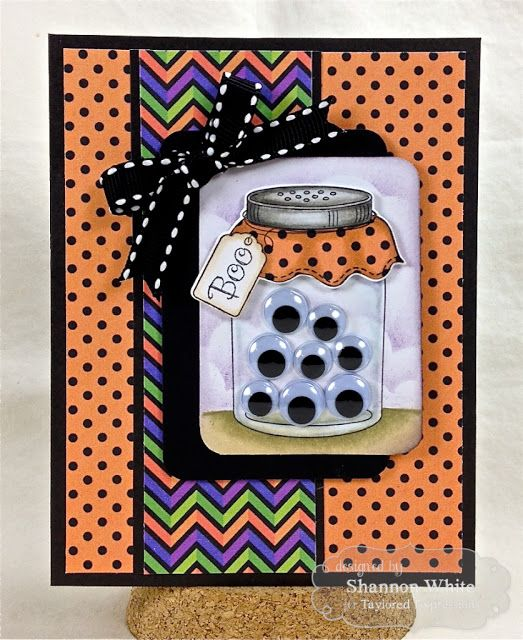 Enchanted Ladybug Creations: Googly Eye Boo! - Taylored Expressions