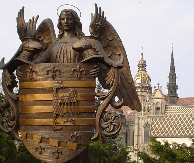 Košice received the first municipal coat of arms in Europe